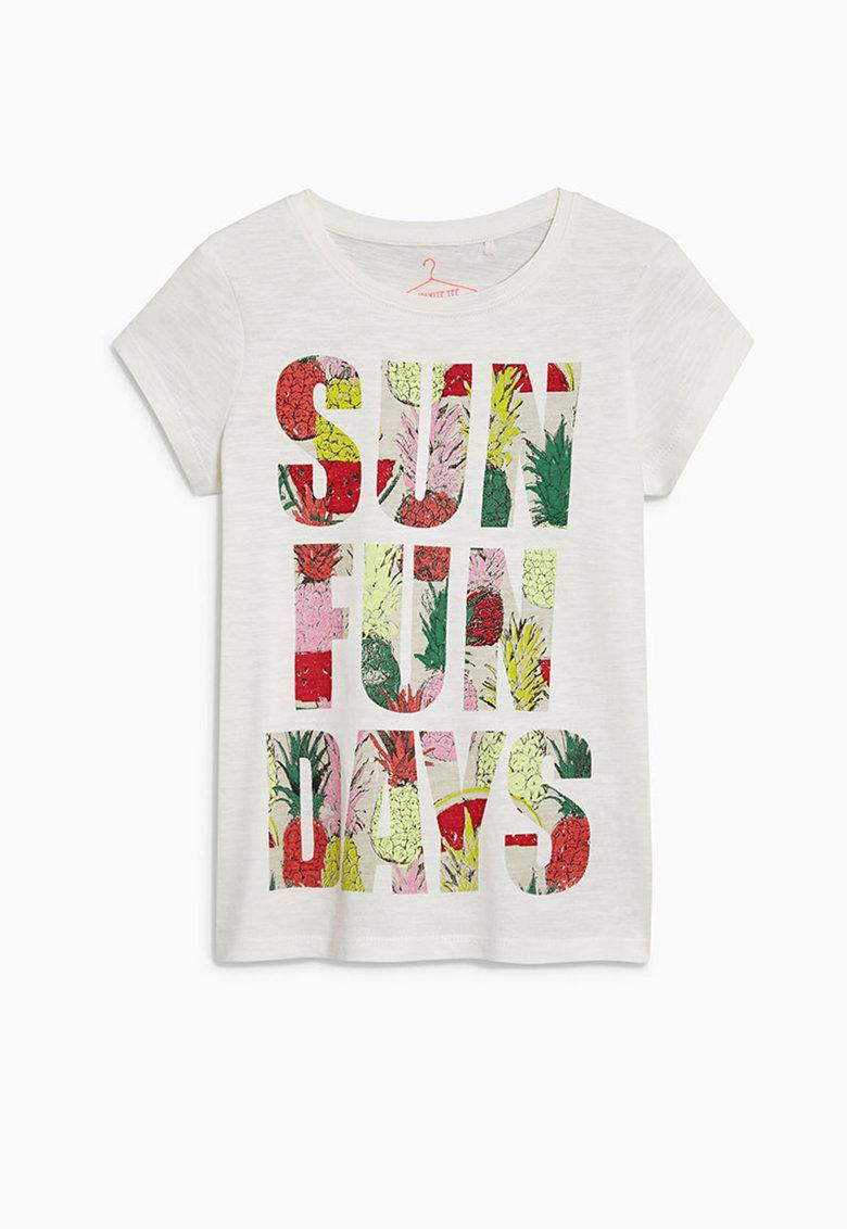 Tricou multicolor cu imprimeu