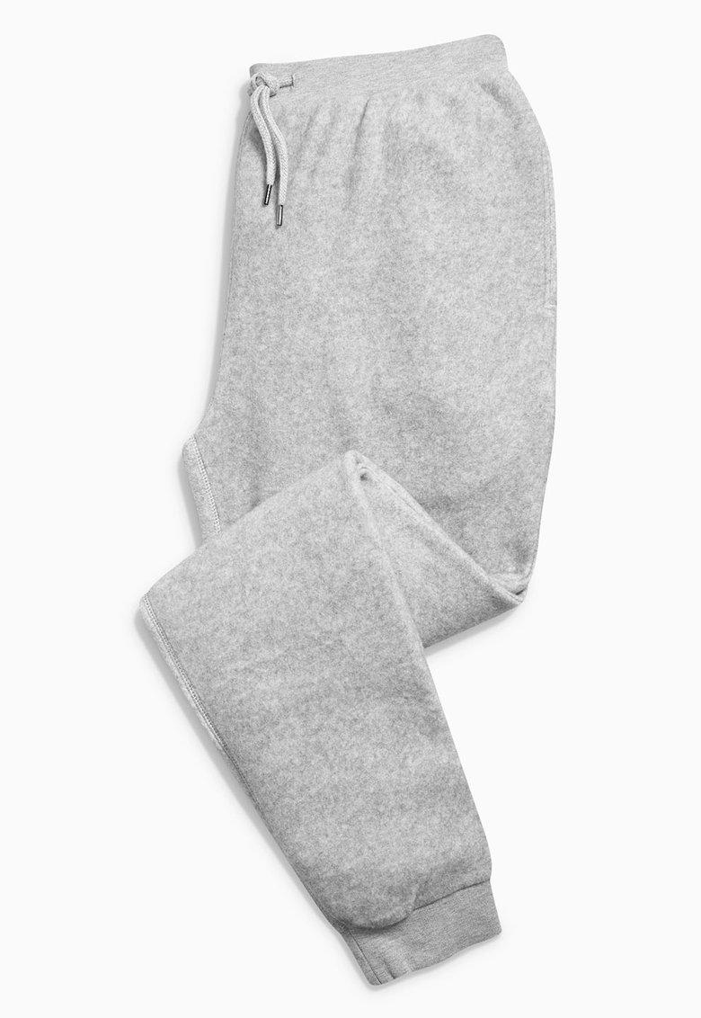 NEXT Pantaloni sport gri melange
