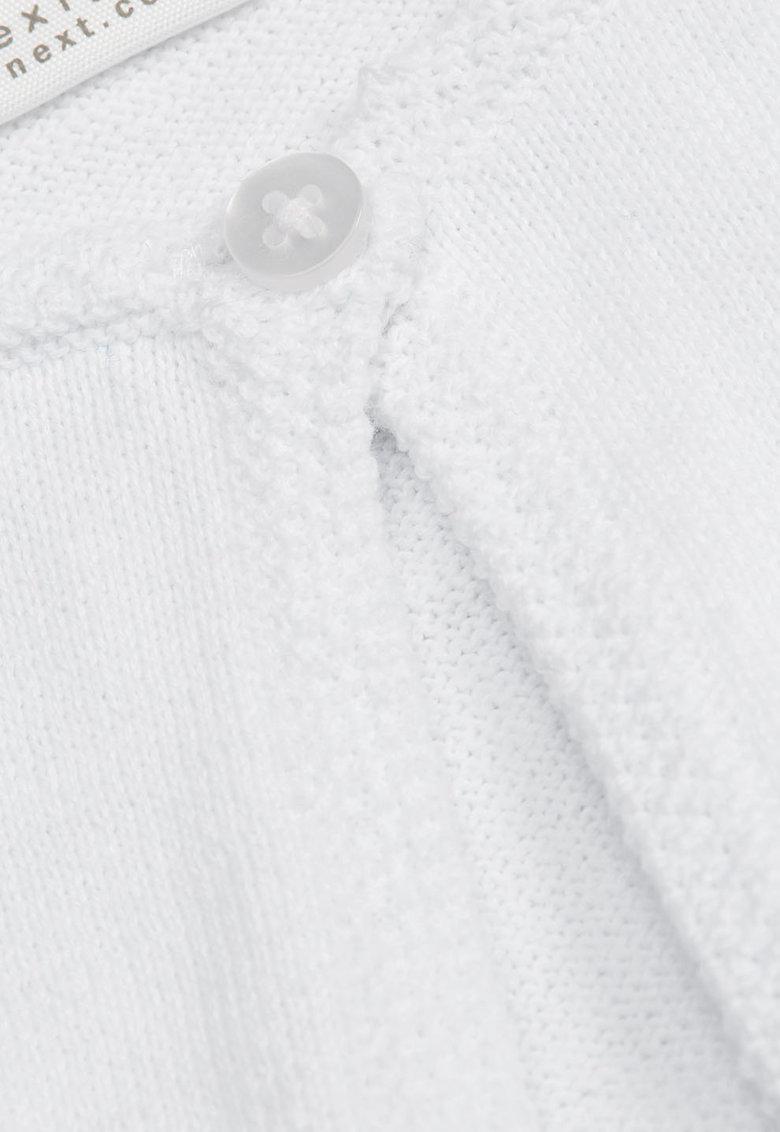 NEXT Cardigan alb tricotat
