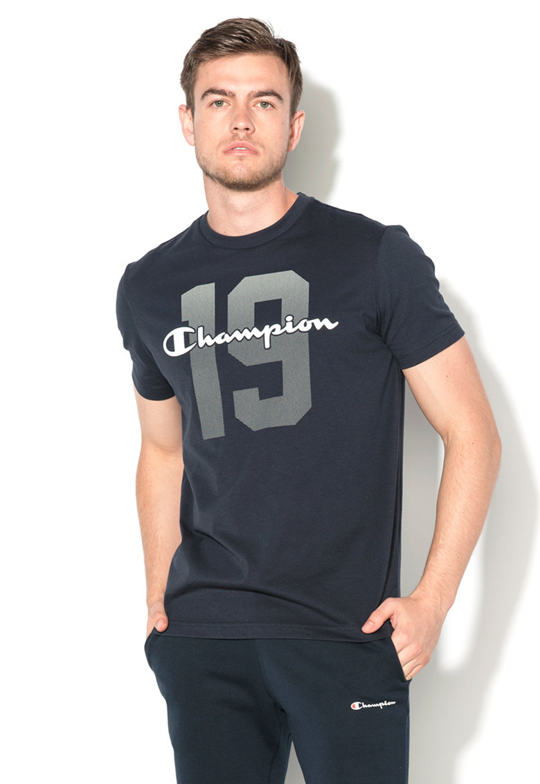 Champion Tricou easy fit bleumarin