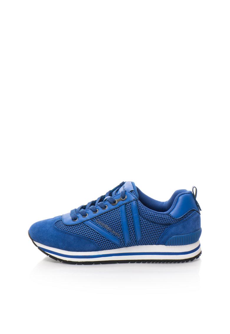 Pantofi sport albastru cobalt Evert