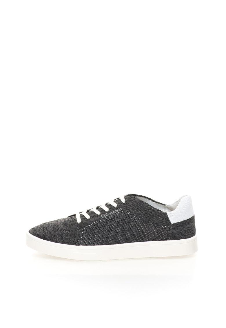Calvin Klein Pantofi sport gri carbune melange Ilene
