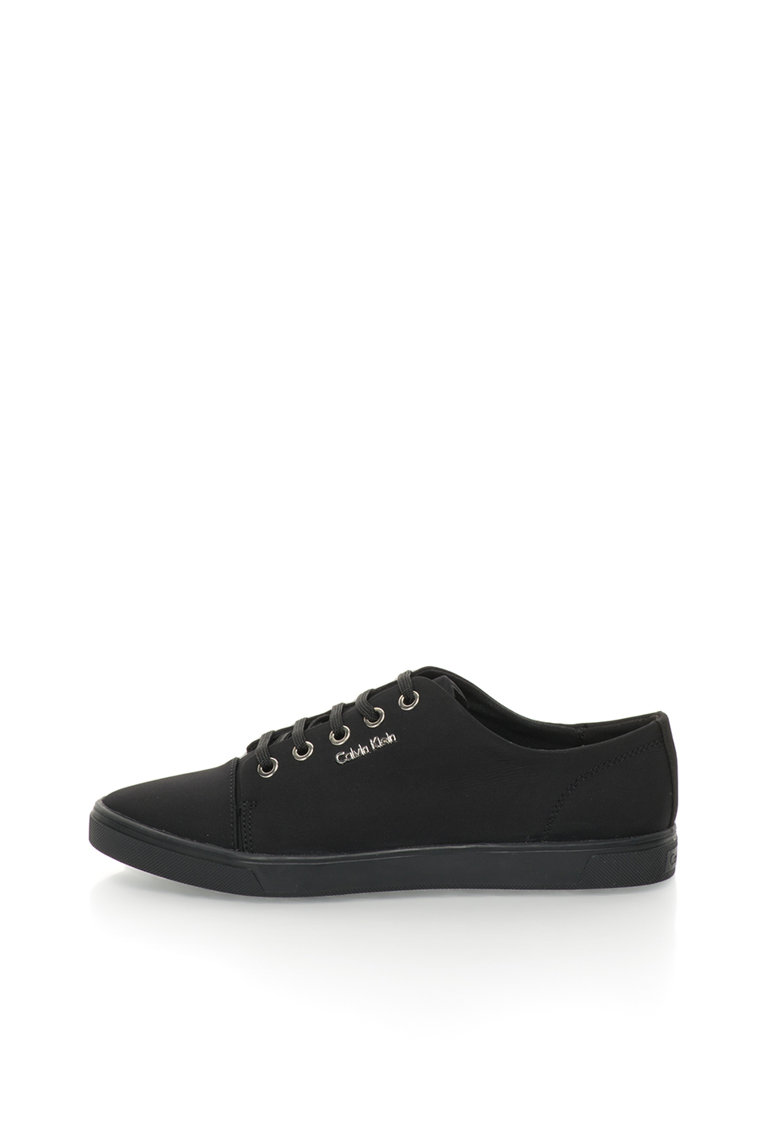 Calvin Klein Pantofi sport negri cu detaliu logo Hamilton
