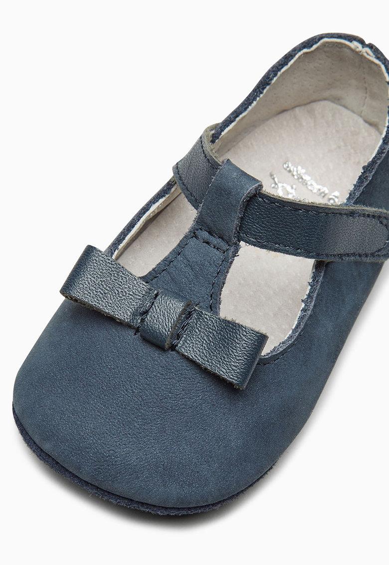 NEXT Pantofi tip botosei bleumarin de piele