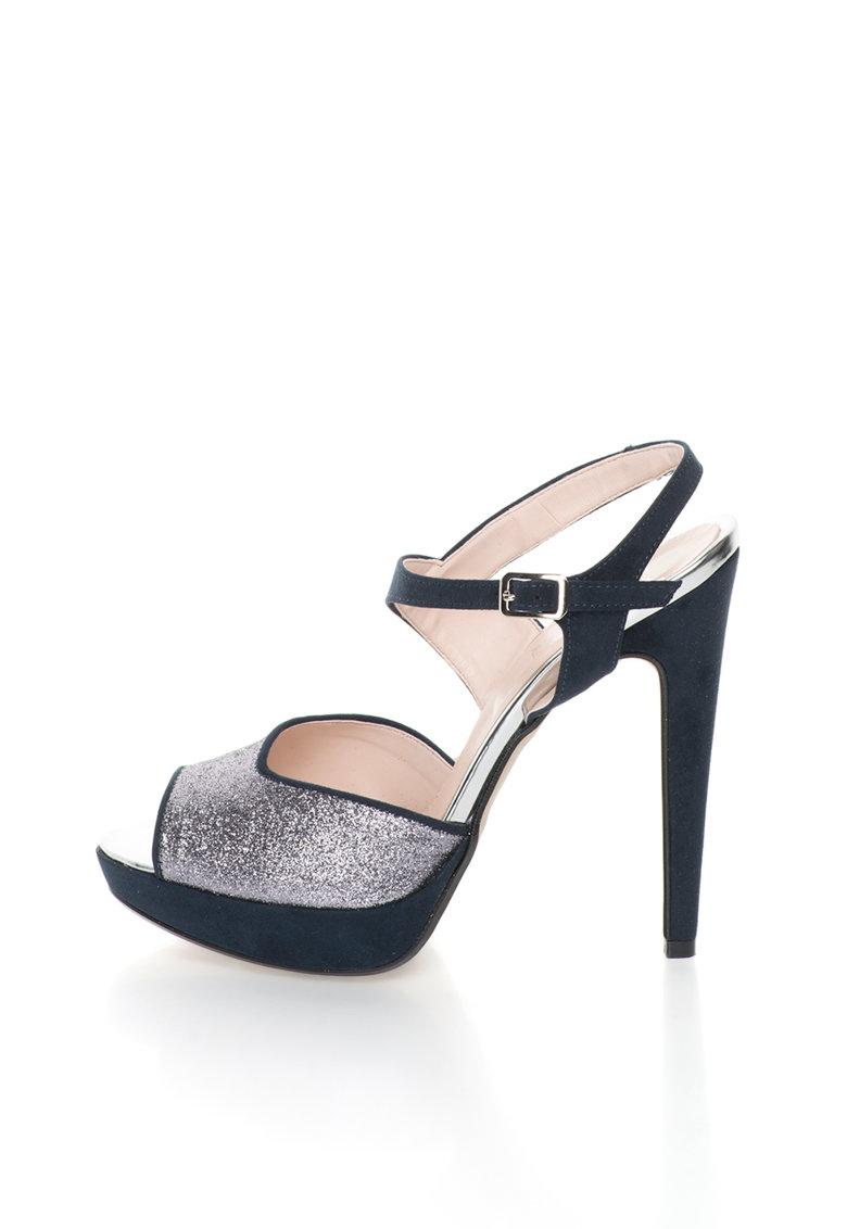 Versace 1969 Abbigliamento Sportivo Sandale bleumarin cu argintiu Calixte