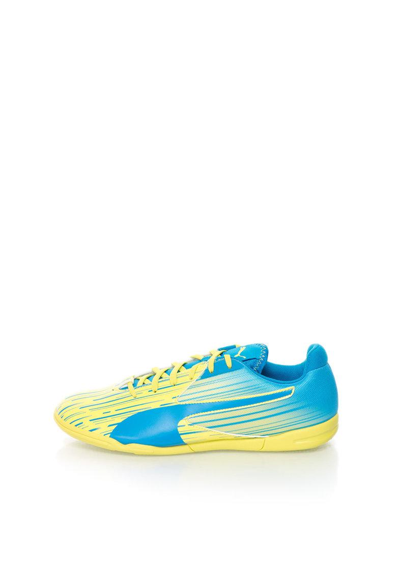 Puma Pantofi sport galben cu albastru electric Meteror
