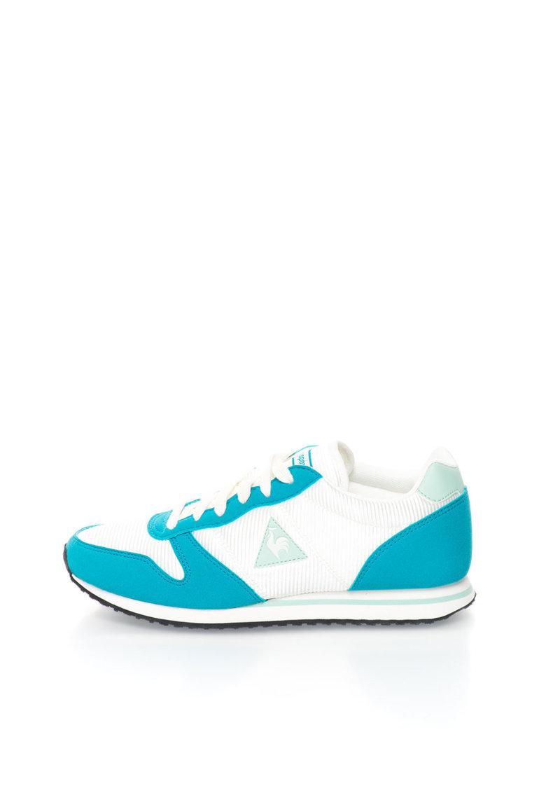 Le Coq Sportif Pantofi sport alb cu albastru paun Alice
