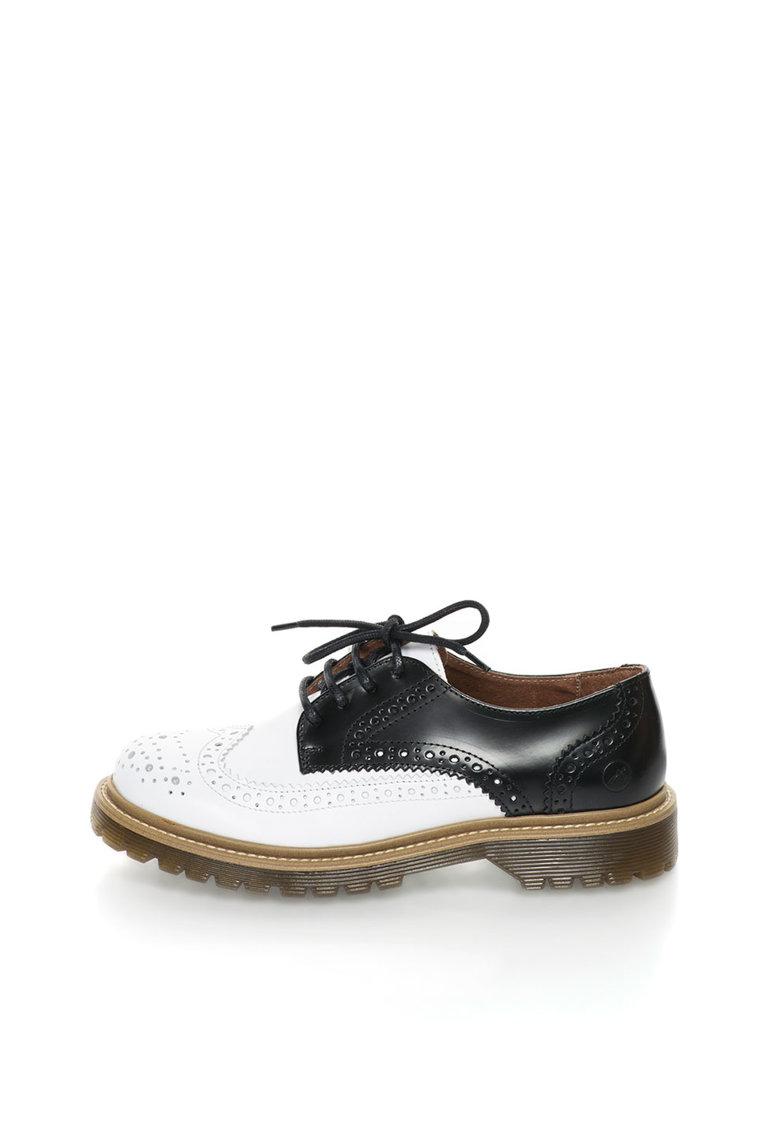 Bronx Pantofi Brogue de piele