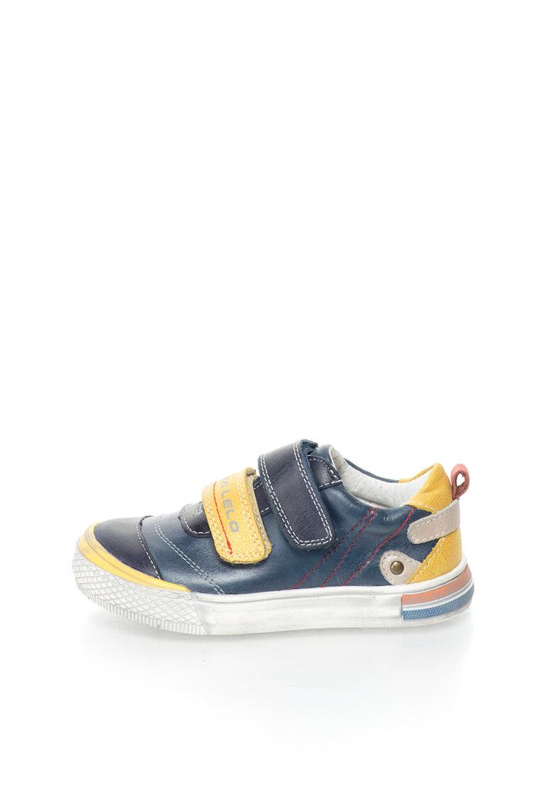 Lea Lelo Pantofi sport de piele cu velcro