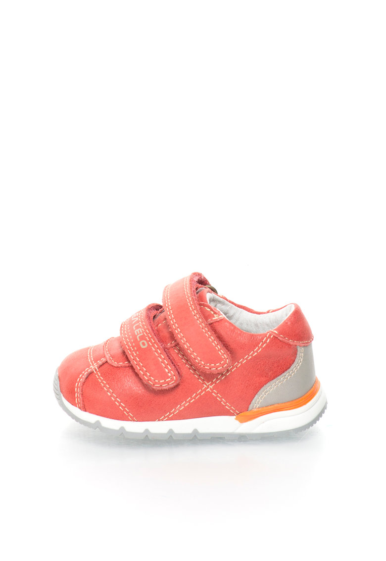 Lea Lelo Pantofi sport de piele cu benzi velcro