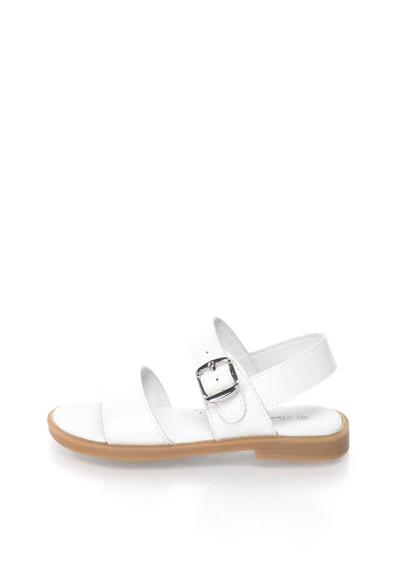 Lea Lelo Sandale de piele cu catarama