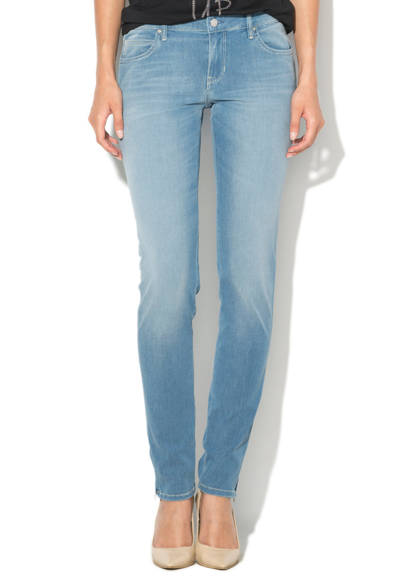 Blugi crop skinny fit Marilyn de la GUESS JEANS