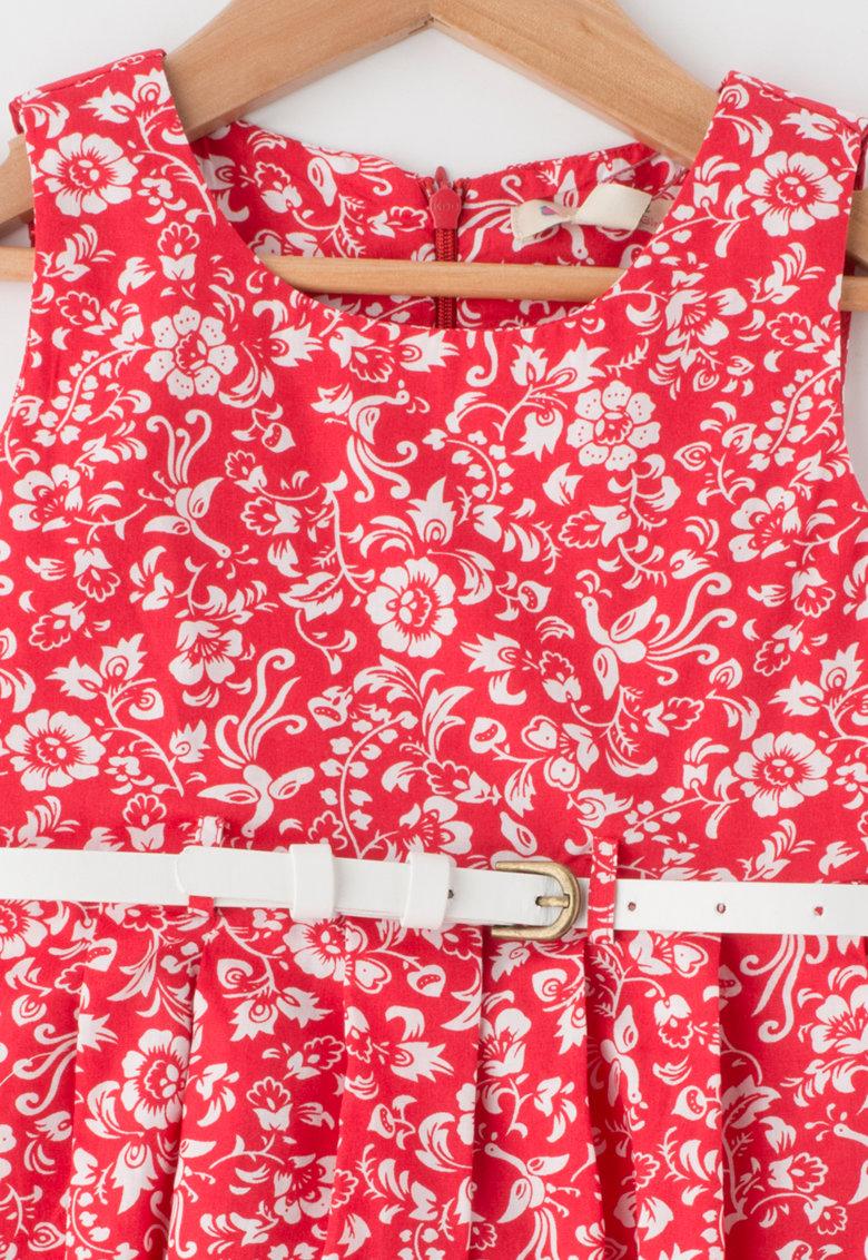 Yumi Rochie fara maneci cu imprimeu floral