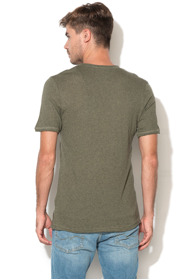 Tricou slim fit Franco