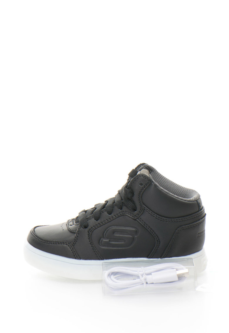Skechers Pantofi sport inalti cu LED-uri Energy Lights