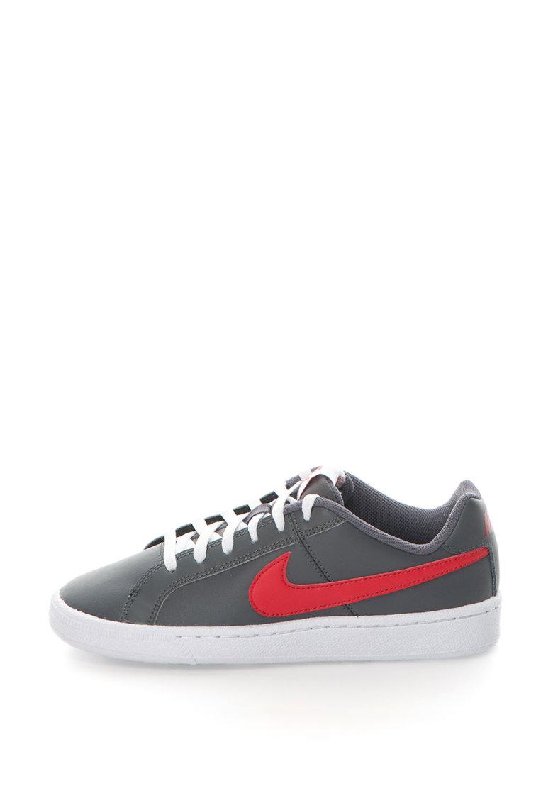 Pantofi sport cu insertii de piele Court Royale 833535