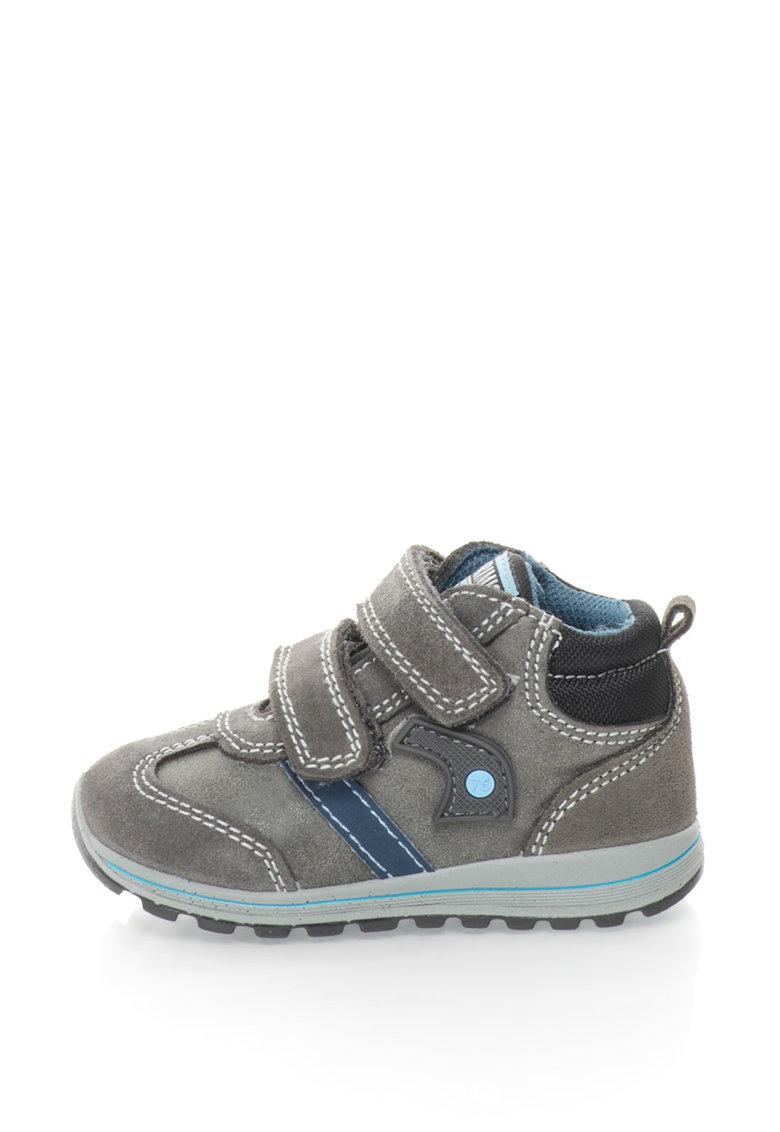 Primigi Pantofi sport mid-high cu garnituri de piele intoarsa