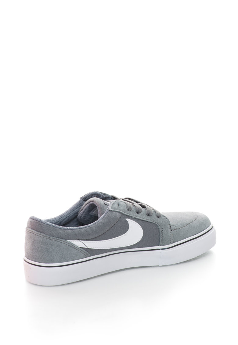 Nike Pantofi sport de panza si piele intoarsa Sb Satire II