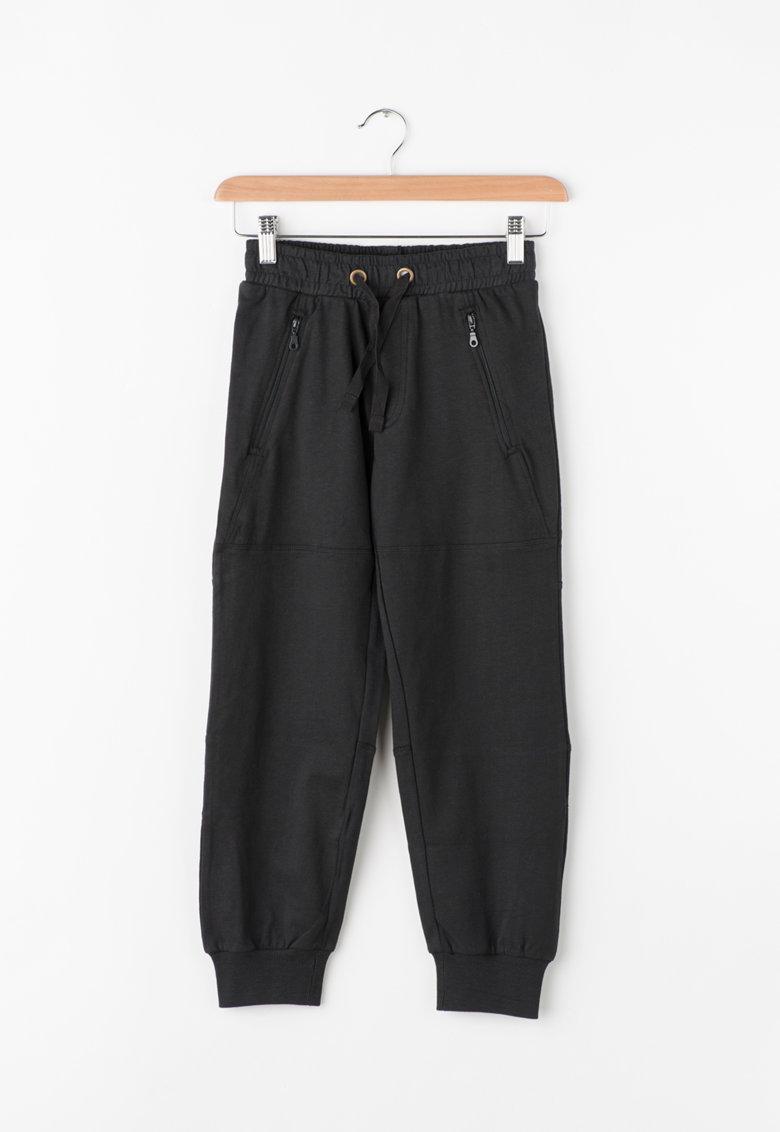 Zee Lane Kids Pantaloni sport cu buzunare cu fermoar