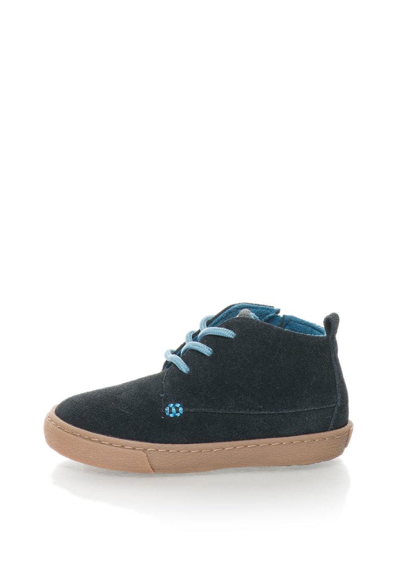 Gioseppo Pantofi sport inalti de piele intoarsa