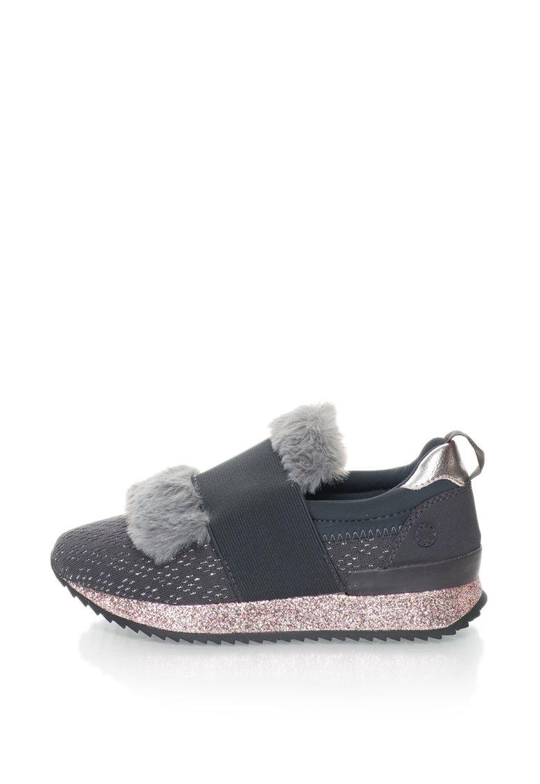 Gioseppo Pantofi sport slip-on cu insertie din material teddy