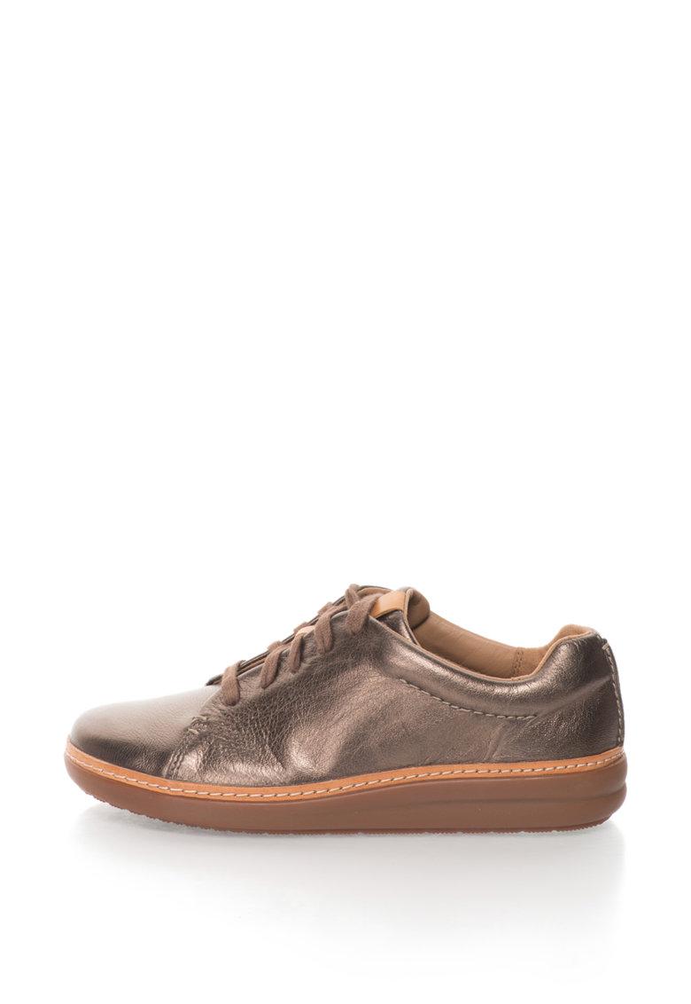 Clarks Pantofi casual de piele Amberlee Crest
