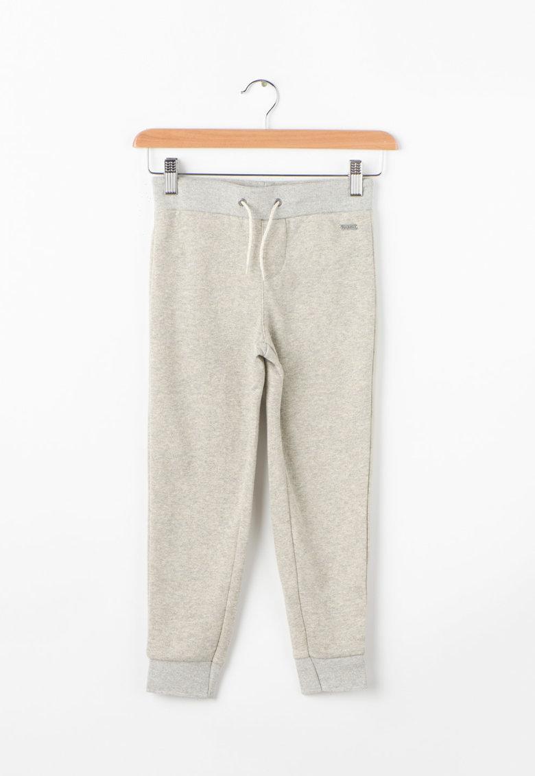 Pepe Jeans London Pantaloni sport cu insertii de fir stralucitor Rafaelli
