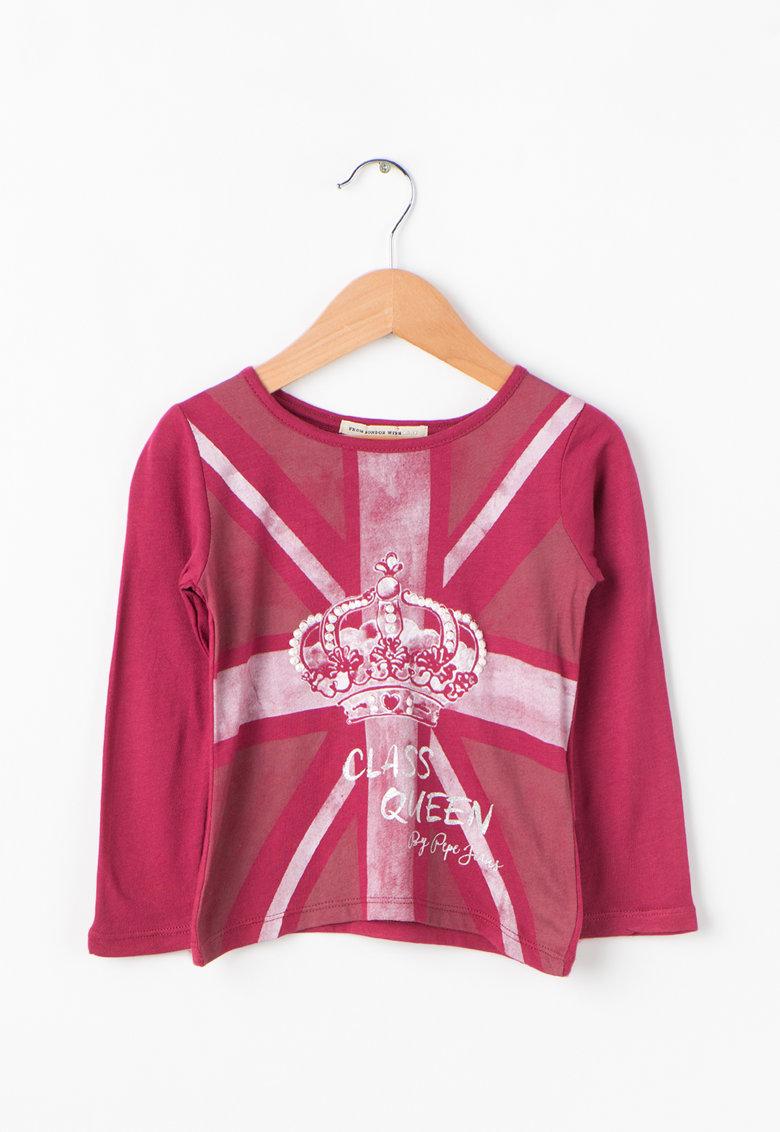 Pepe Jeans London Bluza cu imprimeu grafic Camila
