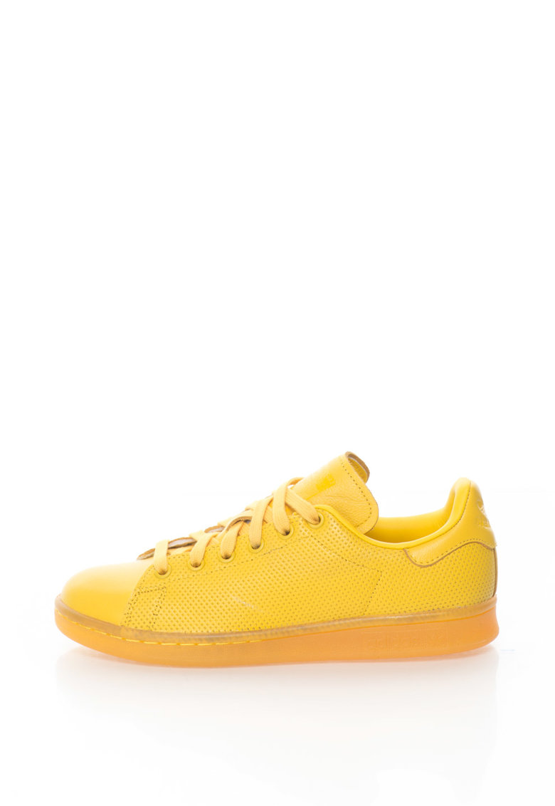 adidas Originals – Pantofi sport galbeni Stan Smith Adicolor