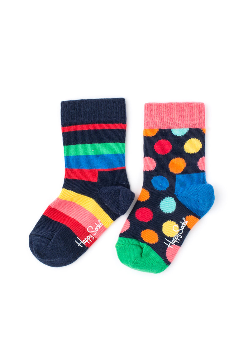 Happy Socks Set de sosete in dungi Pack – 2 perechi