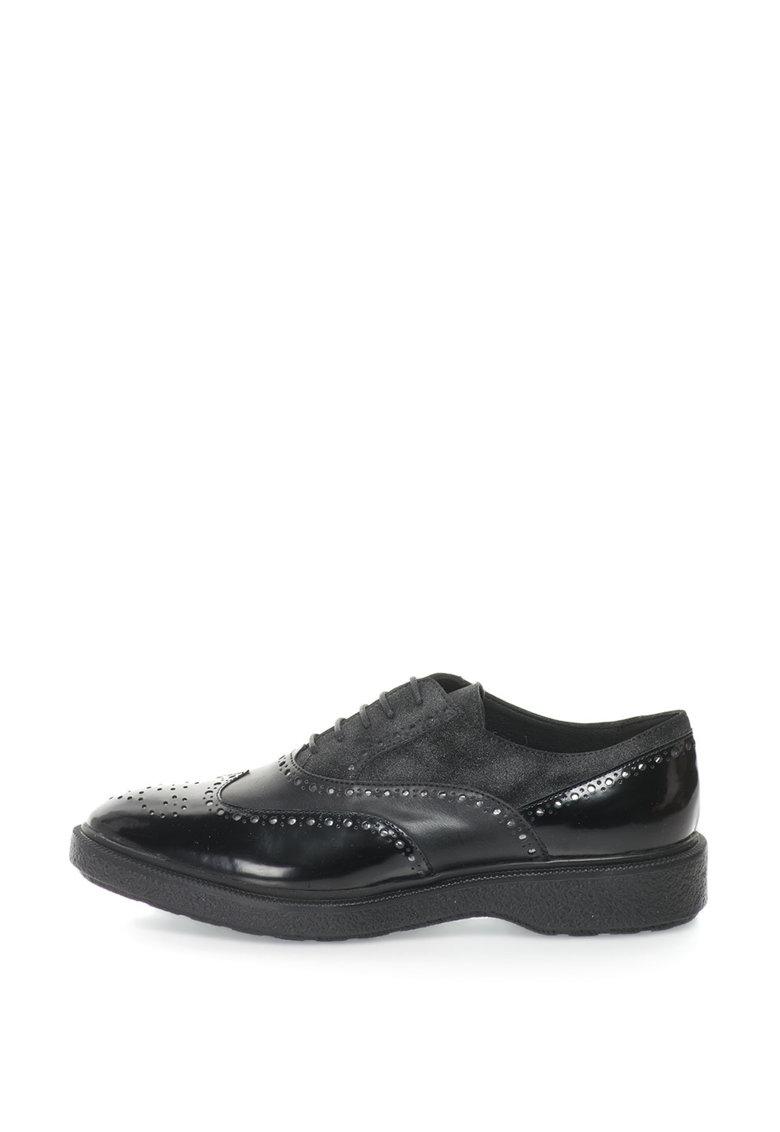 Geox Pantofi brogue Oxford Prestyn