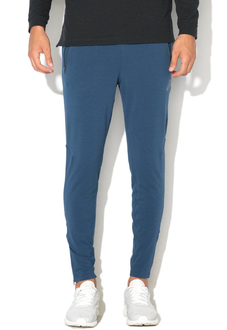 Asics Pantaloni sport cu mansete si fermoar