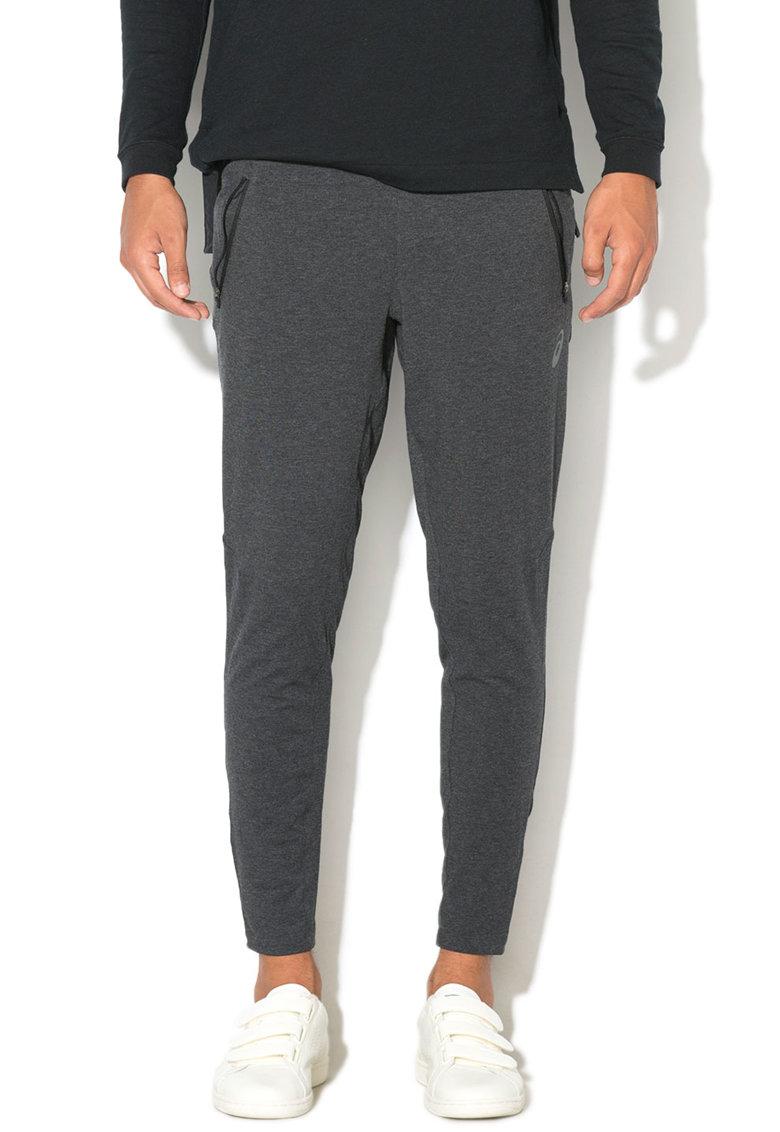 Asics Pantaloni sport cu mansete cu fermoar