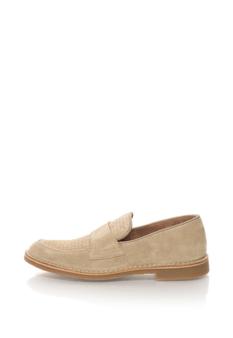 Pantofi loafer de piele intoarsa Royce de la Selected Homme