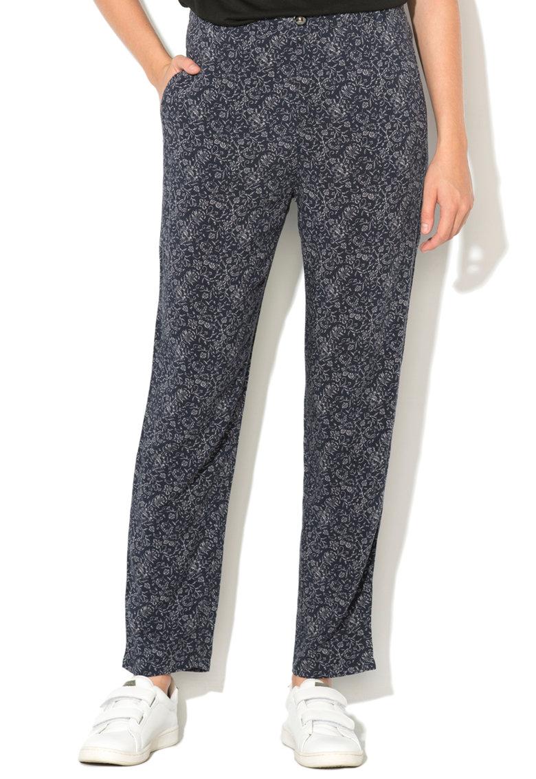 Pantaloni lejeri cu imprimeu