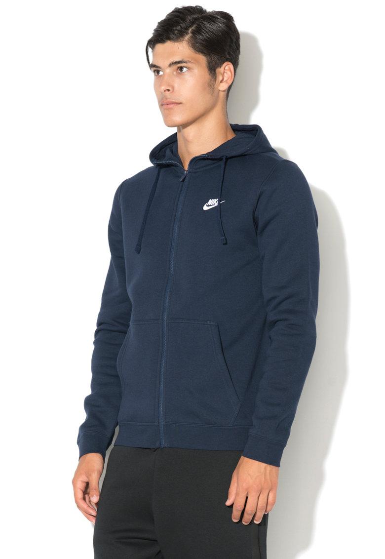 Nike Hanorac cu fermoar si logo Club