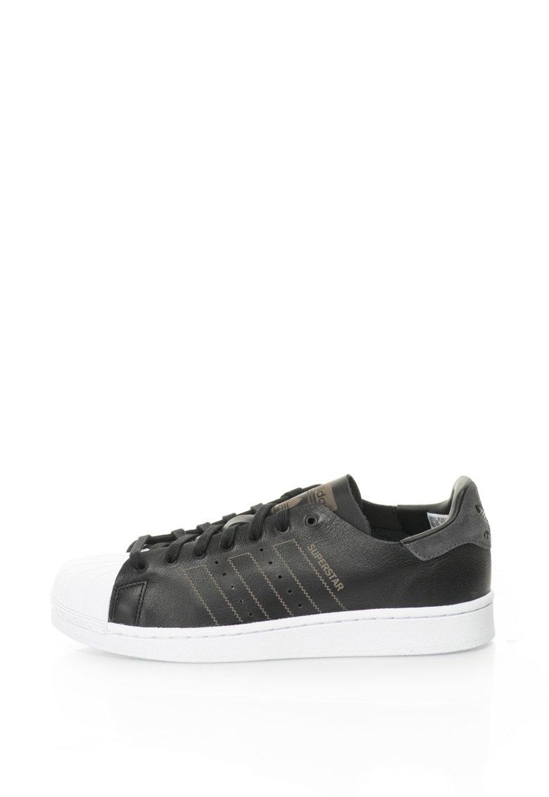 Adidas ORIGINALS Pantofi sport Superstar Decon – Negru/Alb