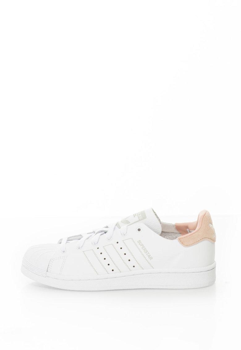 Adidas ORIGINALS Pantofi sport Superstar – Alb