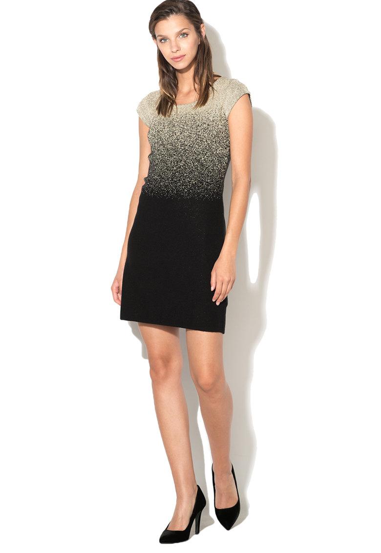 Rochie din tricot fin cu insertii de lurex Heather de la DESIGUAL