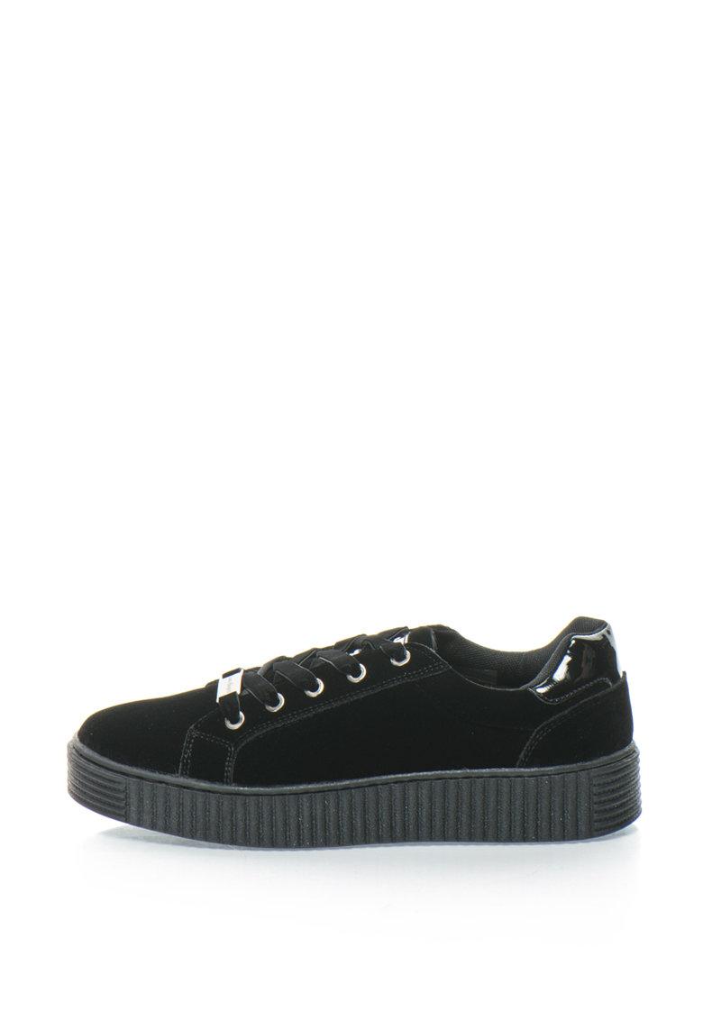 Pantofi sport flatform catifelati de la Laura Biagiotti
