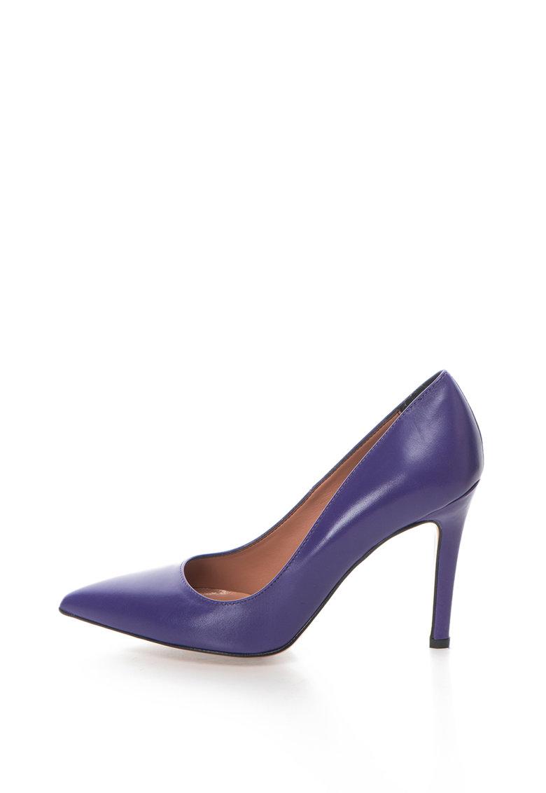 Zee Lane Pantofi stiletto de piele cu varf ascutit Anne