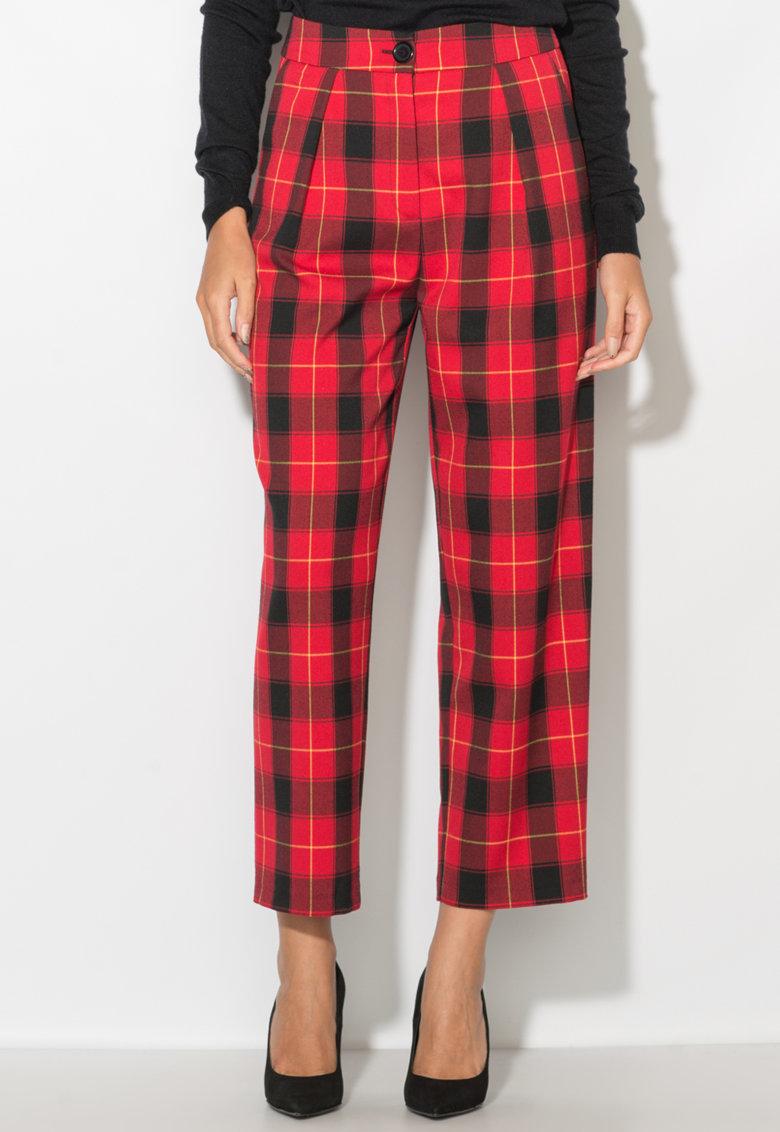 Pantaloni cu talie inalta