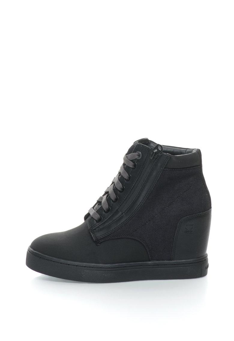 Pantofi sport cu platforma wedge ascunsa Pristel G-Star Raw