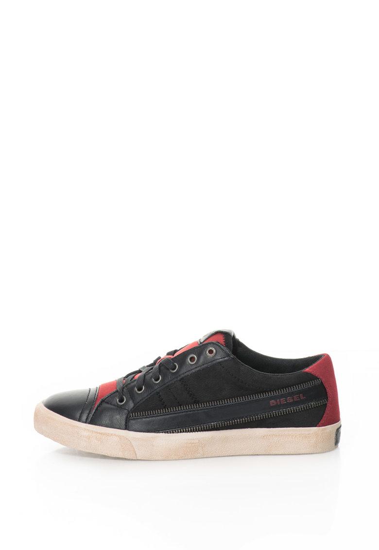 Pantofi Sport De Piele String Low