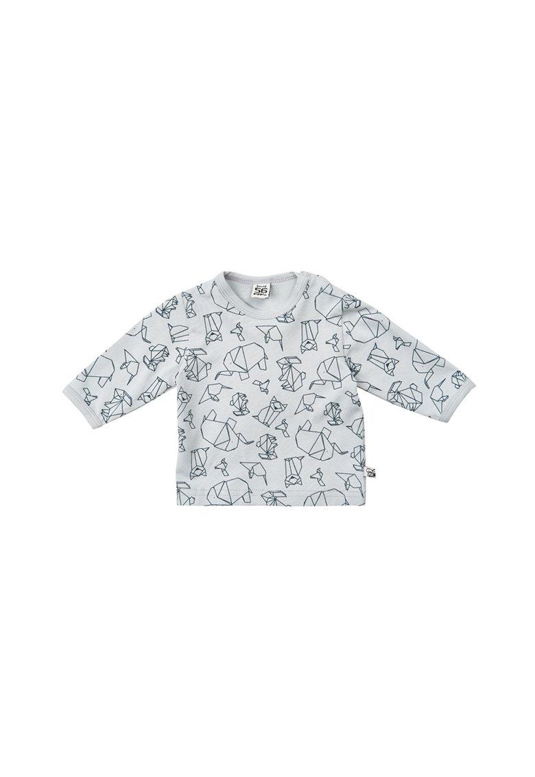Pippi Bluza cu imprimeu Origami