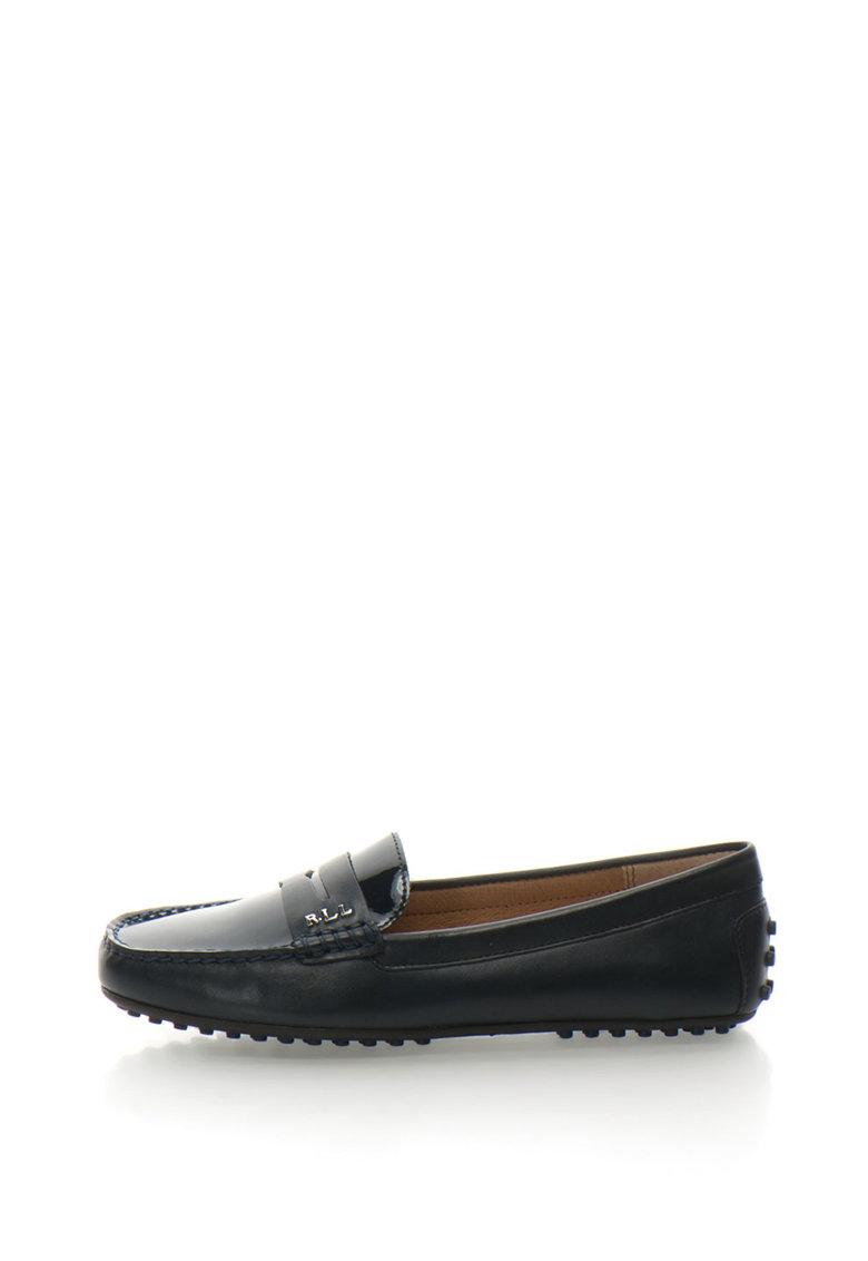 Pantofi loafer de piele Belen de la Lauren Ralph Lauren