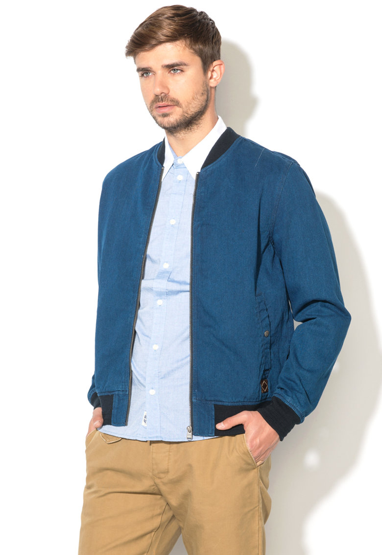 Pepe Jeans London Jacheta bomber de denim