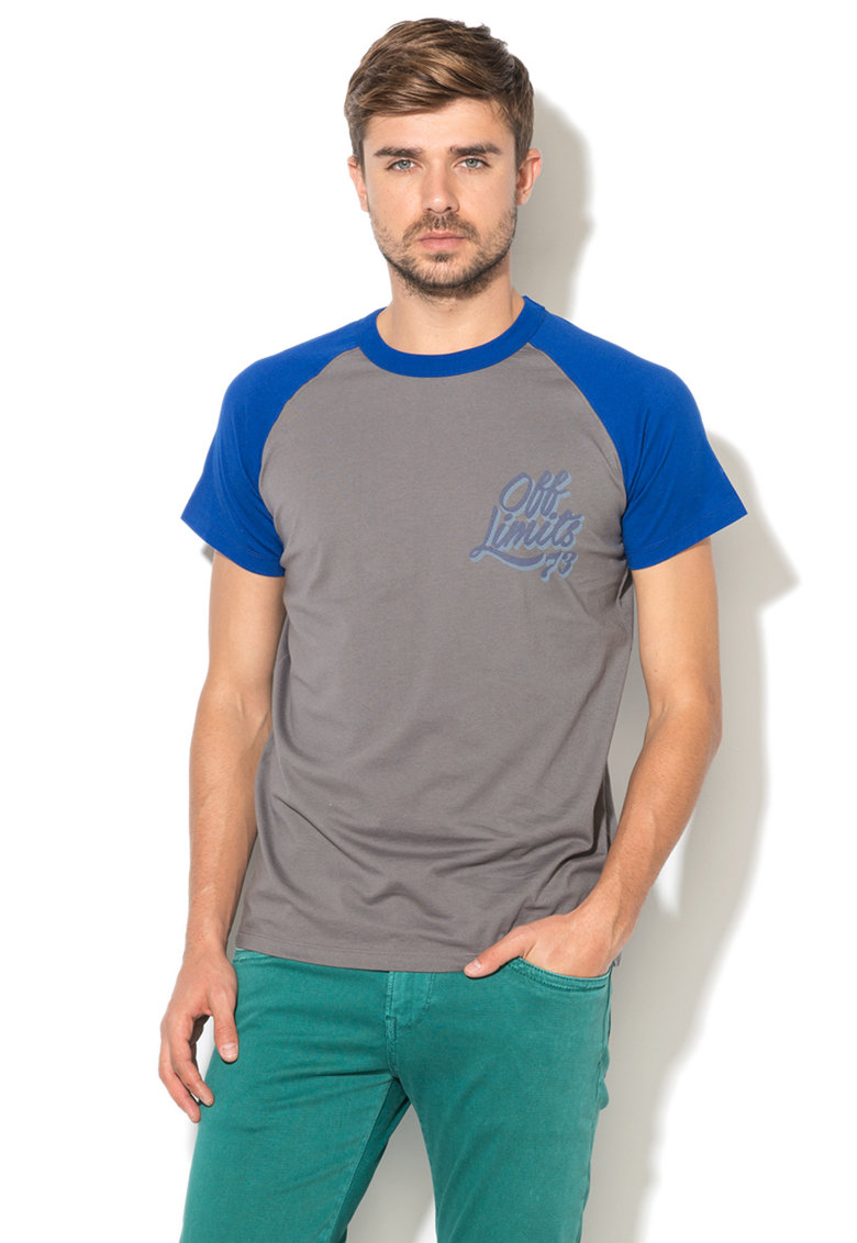 Pepe Jeans London Tricou cu imprimeu text Ricks