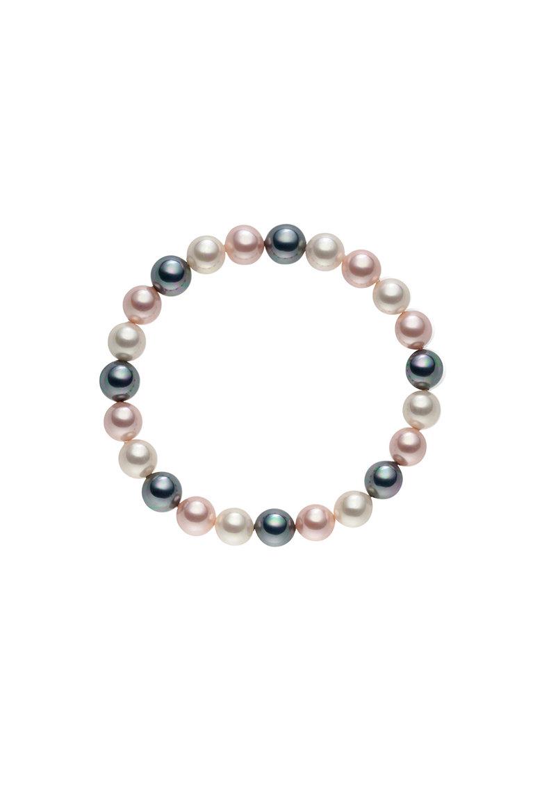 Bratara elastica cu perle organice