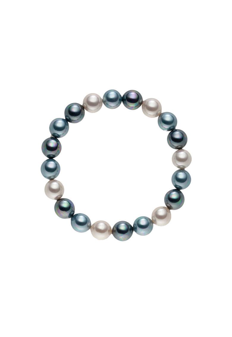 Zee Lane Bratara elastica cu perle organice